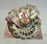 Round Sewing Basket