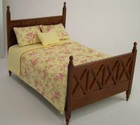 Ashley Double Bed, Spice