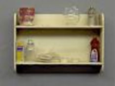 Painter's Double Shelf