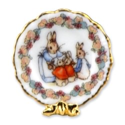 Peter Rabbit Collector Plate