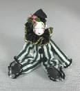 Black & White Clown Doll