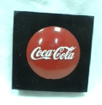 Coca Cola Lighted in Square Black Frame