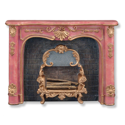 Rose Fireplace Unit