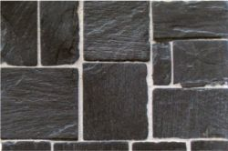 Real Slate Flagstone Tiles, Random Sized, approx. 100 sq. in.