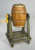 Barrel With Hand Crank