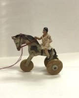 Rolling Horse withTiny Doll
