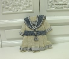 Tiny White Sailor Dress