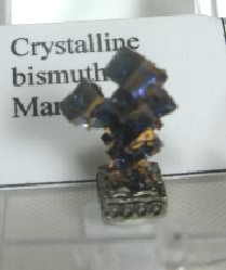 Man-Made Crystaline Bismuth