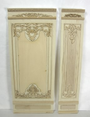 "4"" French Wall Panel, Unfinished"