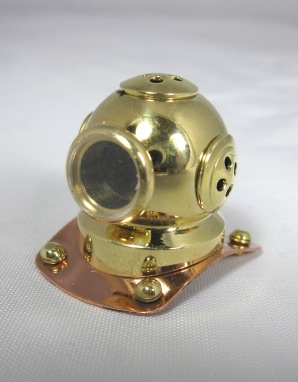 Brass and Copper Diver's Helmet